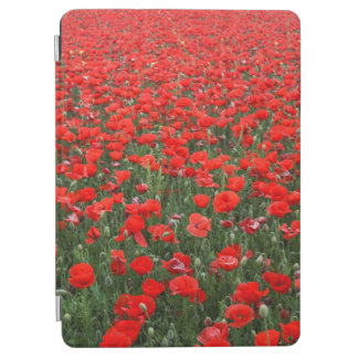 Protection iPad Air Champ des pavots rouges