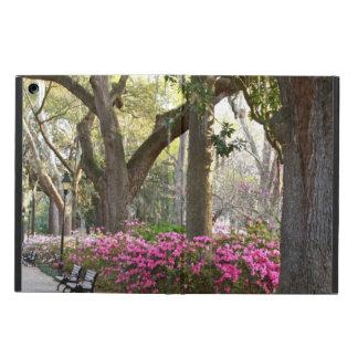 Protection iPad Air Chênes d'azalées de parc de la savane GA au