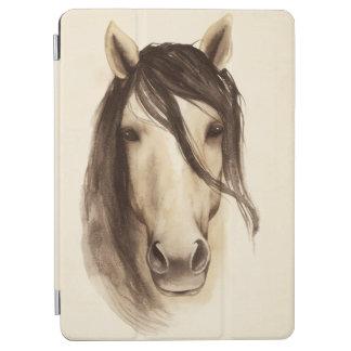 Protection iPad Air Cheval des animaux | de grange d'aquarelle