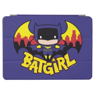 Protection iPad Air Chibi Batgirl avec l'horizon et le logo de Gotham