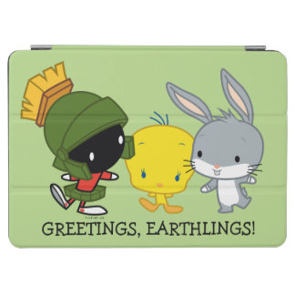 Protection iPad Air Chibi MARVIN le ™ de MARTIAN™, de TWEETY™, et de
