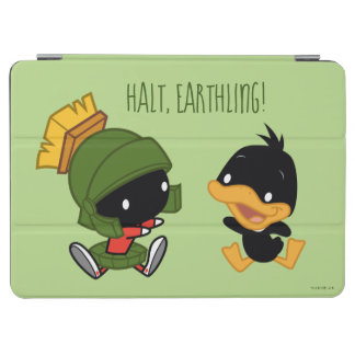Protection iPad Air Chibi MARVIN le MARTIAN™ et le DAFFY DUCK™