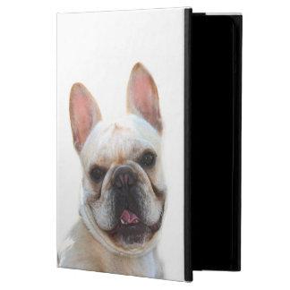 Protection iPad Air Chien heureux de bouledogue français