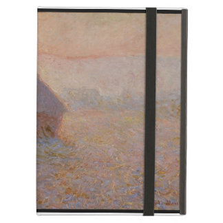 Protection iPad Air Claude Monet | Grainstack, Sun dans la brume