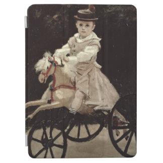 Protection iPad Air Claude Monet | Jean Monet sur son cheval de