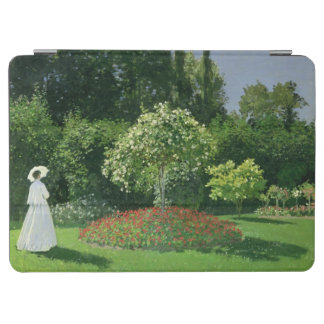 Protection iPad Air Claude Monet | Jeanne Marie Lecadre dans le jardin