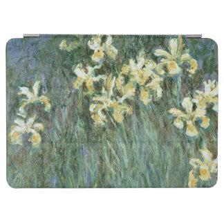 Protection iPad Air Claude Monet | les iris jaunes
