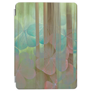 Protection iPad Air Collage d'Oxalis et d'arbres | Seabeck, WA