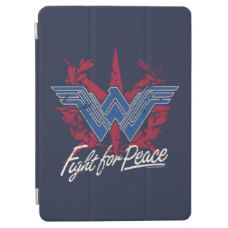 Protection iPad Air Combat de femme de merveille pour le symbole de