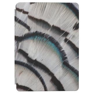 Protection iPad Air Conception argentée de plume de faisan