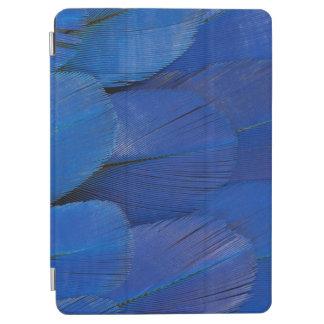 Protection iPad Air Conception bleue de plume d'ara de jacinthe