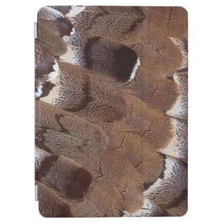 Protection iPad Air Conception de plume de Brown