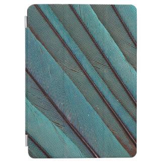 Protection iPad Air Conception de plume de martin-pêcheur de turquoise