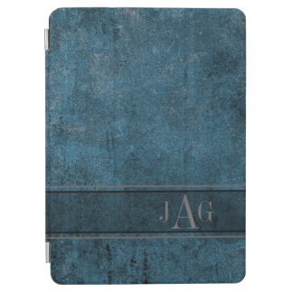 Protection iPad Air Conception grunge rustique de livre bleu
