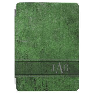Protection iPad Air Conception grunge rustique de Livre vert