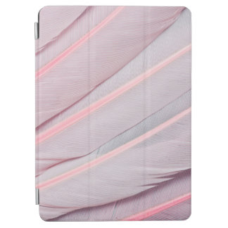 Protection iPad Air Conception rose de Feahter de spatule rose