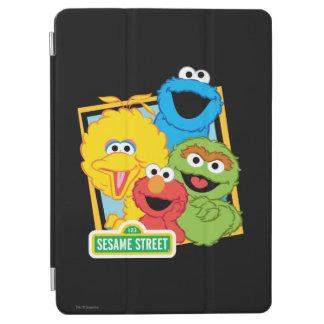 Protection iPad Air Copains de Sesame Street
