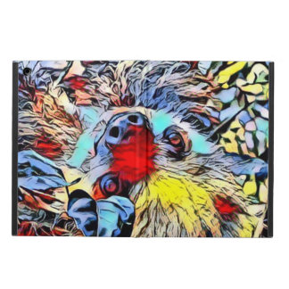 Protection iPad Air Coup-de-pied de couleur - paresse II
