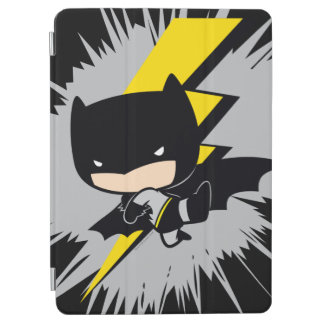Protection iPad Air Coup-de-pied de foudre de Chibi Batman