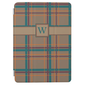 Protection iPad Air Couverture chic d'iPad de plaid d'automne