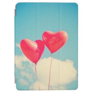 Protection iPad Air couverture d'iPad, ballons de coeur