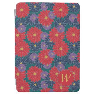 Protection iPad Air Couverture florale d'iPad d'automne sensationnel