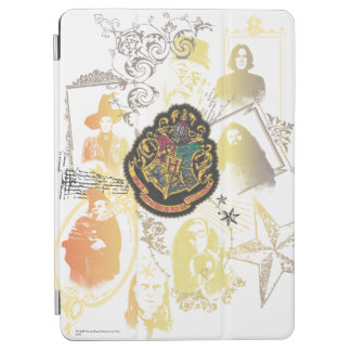 Protection iPad Air Crête colorée de Harry Potter | Hogwarts