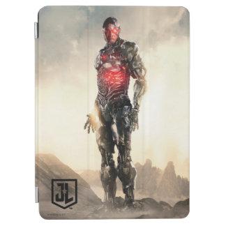Protection iPad Air Cyborg de la ligue de justice | sur le champ de