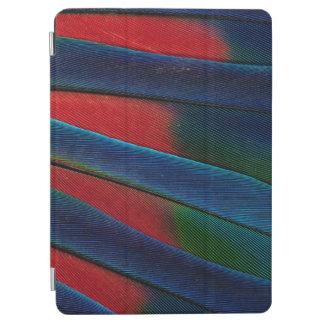 Protection iPad Air Détail Bleu-Dirigé de plume de perroquet