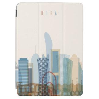 Protection iPad Air Doha, horizon de ville du Qatar |