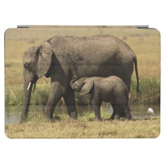Protection iPad Air Éléphants africains