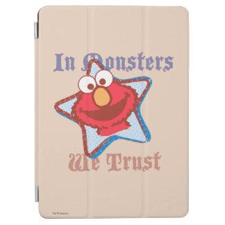Protection iPad Air Elmo - dans les monstres nous faisons confiance