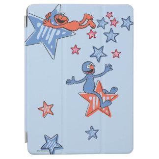 Protection iPad Air Elmo et Grover parmi les étoiles