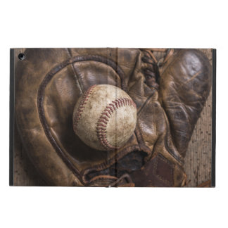 Protection iPad Air Équipement de base-ball vintage