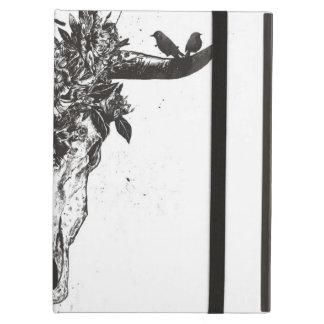 Protection iPad Air Été mort (noir et blanc)