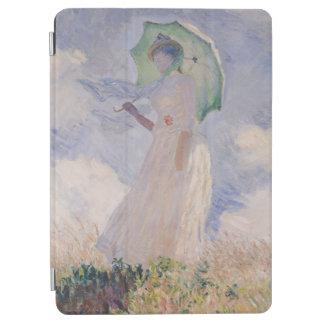 Protection iPad Air Femme de Claude Monet | avec le parasol tourné