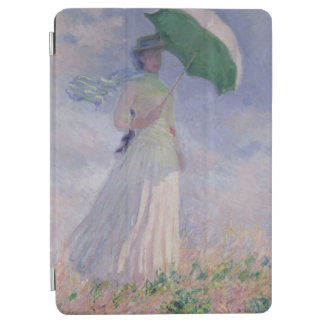 Protection iPad Air Femme de Claude Monet | avec un parasol tourné à