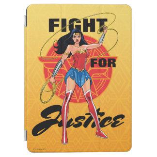 Protection iPad Air Femme de merveille avec le lasso - combat pour la