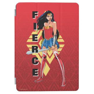Protection iPad Air Femme de merveille avec l'épée - féroce