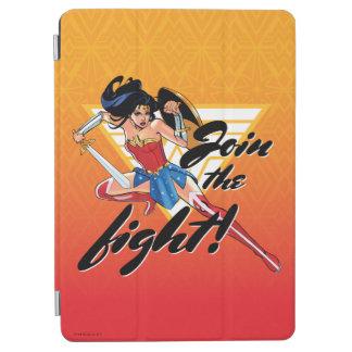 Protection iPad Air Femme de merveille avec l'épée - joignez le combat