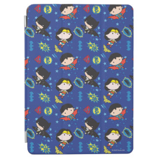 Protection iPad Air Femme de merveille de Chibi, Superman, et motif de