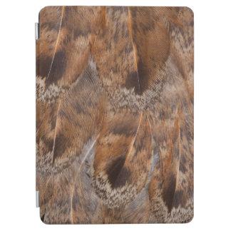 Protection iPad Air Fermez-vous des plumes de Brown