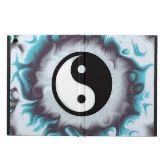 Protection iPad Air Flamme de Yin Yang Teal