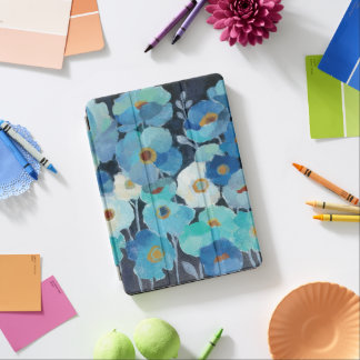 Protection iPad Air Fleurs d'indigo