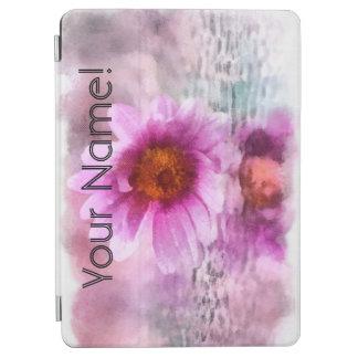 Protection iPad Air Fleurs pourpres