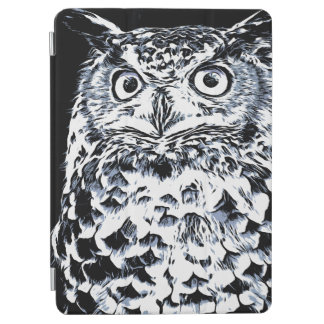 Protection iPad Air Grand art de hibou à cornes