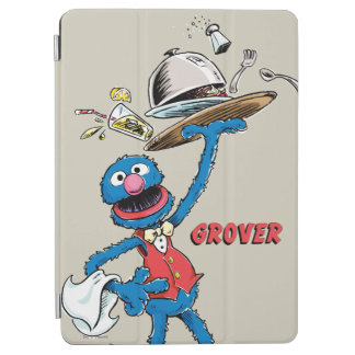 Protection iPad Air Grover vintage le serveur