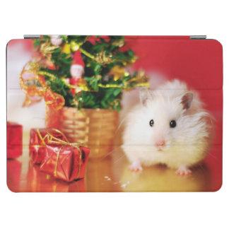 Protection iPad Air Hamster Kokolinka avec l'arbre de Noël