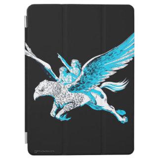 Protection iPad Air Harry et Hermione sur un Hippogriff
