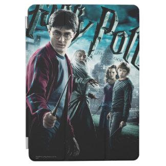 Protection iPad Air Harry Potter avec Dumbledore Ron et Hermione 1